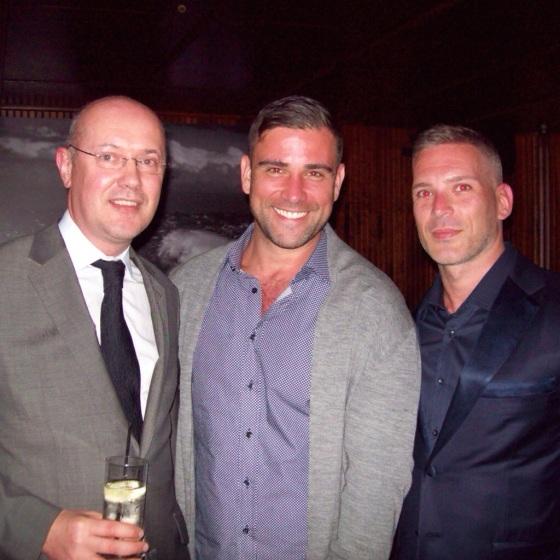 Gerard Denneny + Rubin Singer + Carlos Melia / Photo courtesy of Michael Luongo