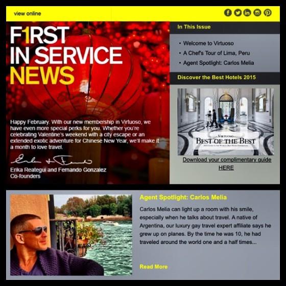 First in Service Agent Spotlight: Carlos Melia & LGTNework