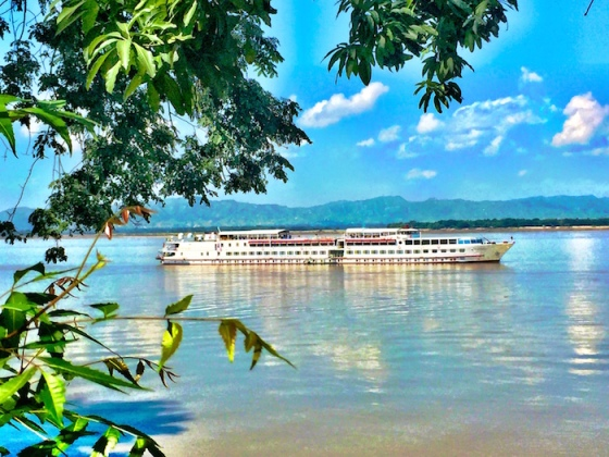 Life aboard Belmond's Road to Mandalay Luxury River Cruise